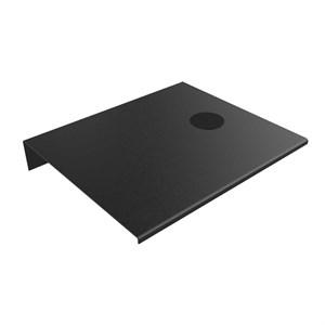 Alufit - Sengebord Med Wireless Oplader Sort