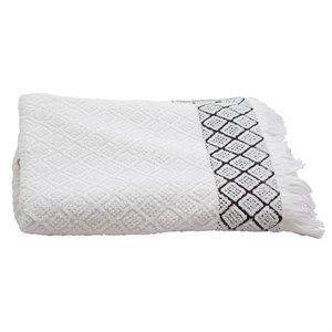 Au Maison Håndklæde - Soft Tiles Håndklæde I Hvid 70x140