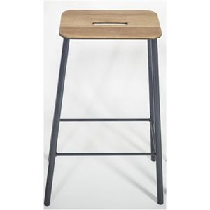 Frama - Adam Skammel/barstol (højde 65 Cm) - Grå