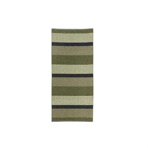 Horredsmattan - Block - Plastiktæppe - Olive (70x350)