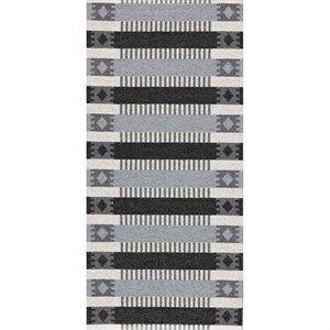Horredsmattan Tæppe - Märta I Grå/sort 50x70