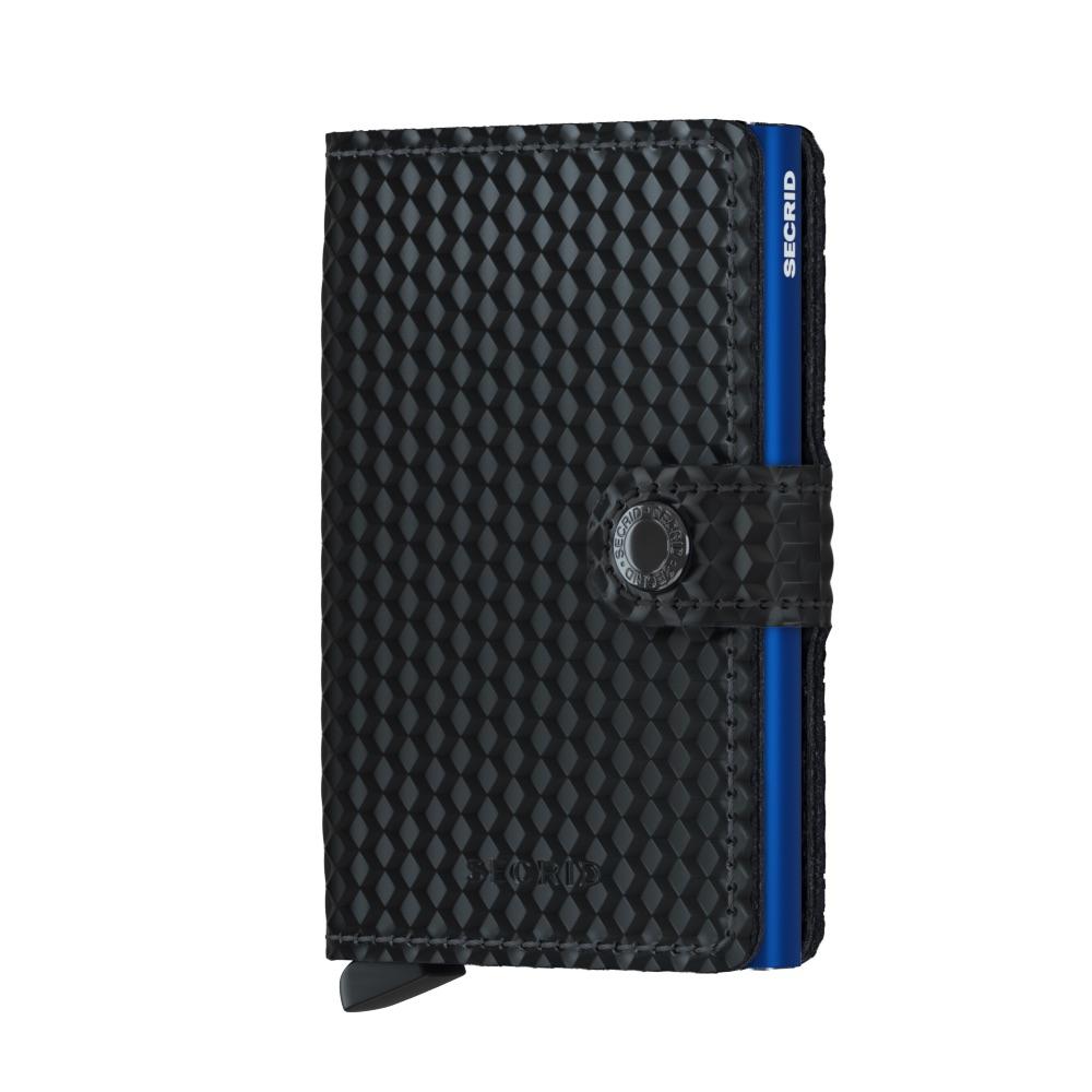 Kortholder - Secrid Miniwallet (black/blue)