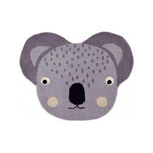 Oyoy - Koala Gulvtæppe - Grå