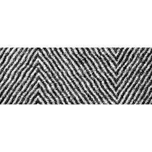 Skriver Collection Løber - Herringbone Grå 85x240