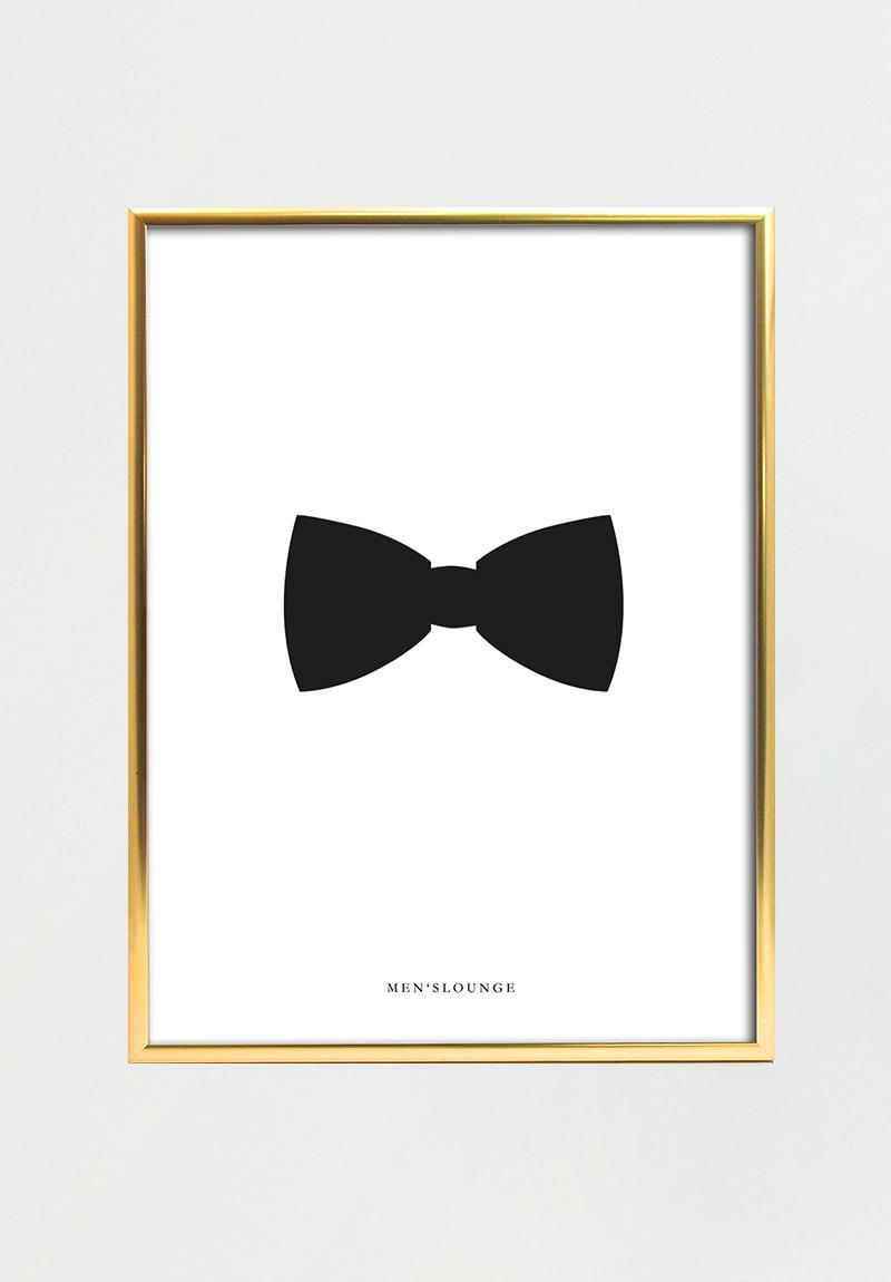 Black Bow Tie 50x70