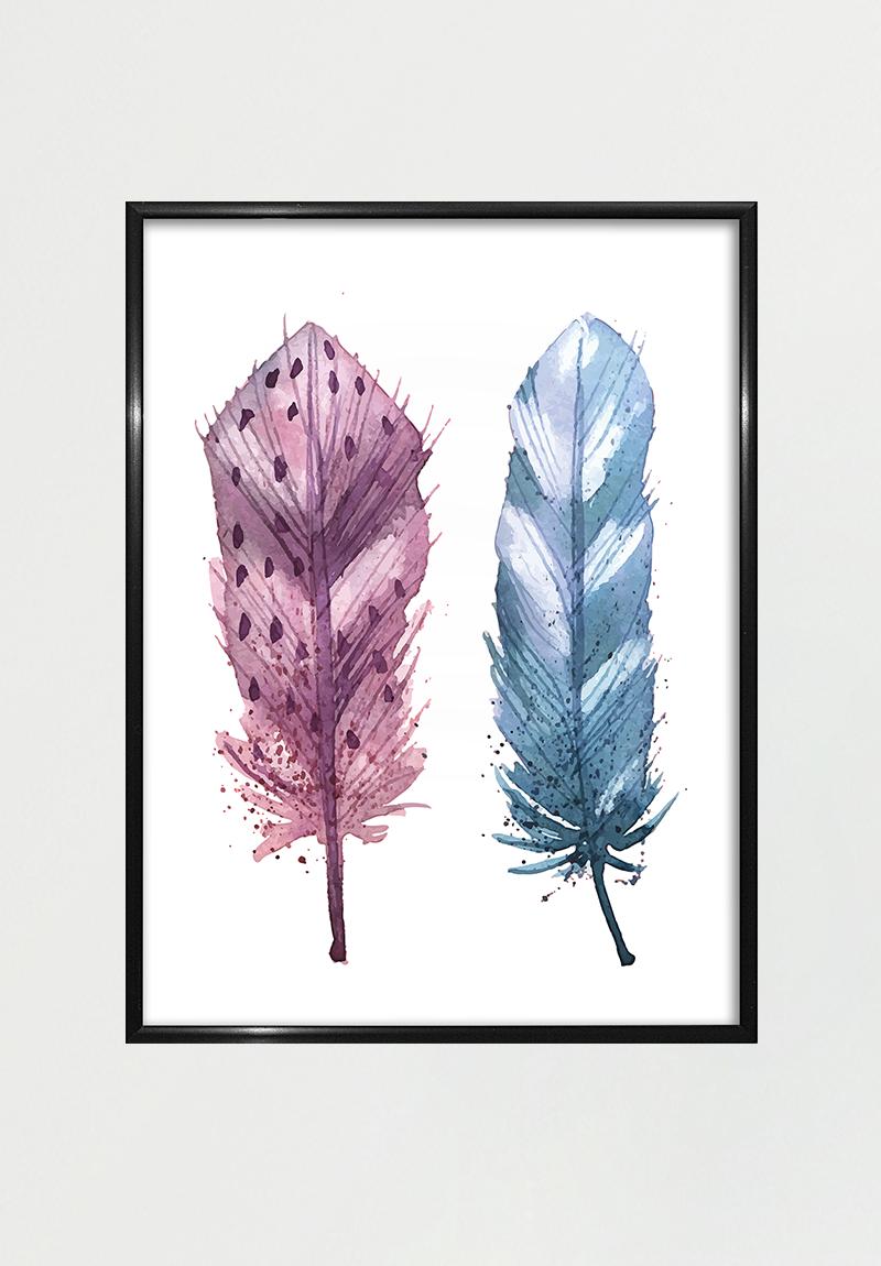 Feather Ii 50x70