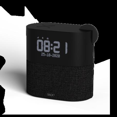 Sackit Wakeit - Dab+ Clockradio - S Black