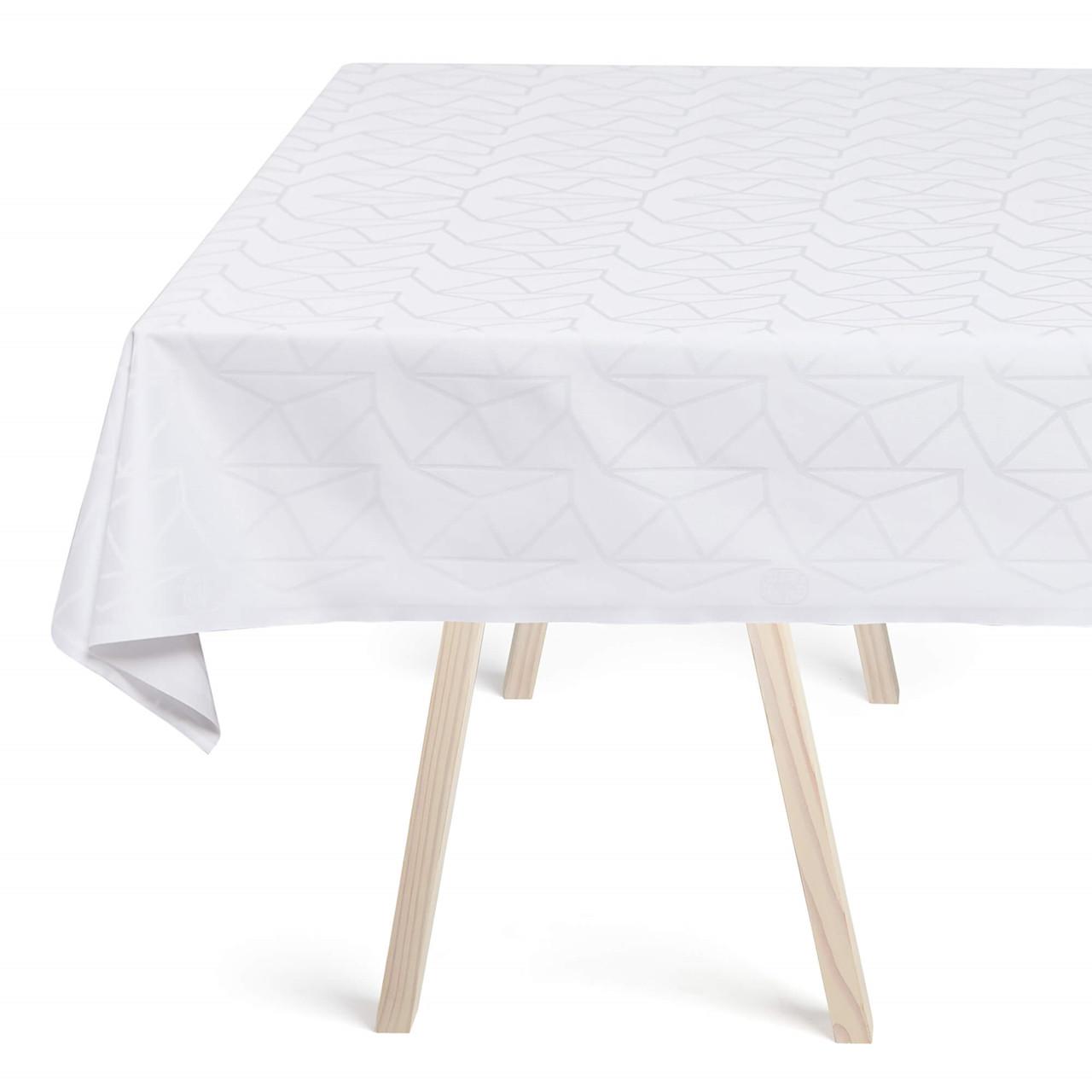 Arne Jacobsen Damaskdug Hvid (white